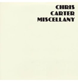 Mute Records Chris Carter - Miscellany