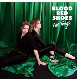 Jazz Life Blood Red Shoes - Get Tragic