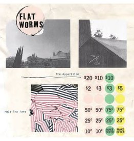 Famous Class Flat Worms - The Apparition / Melt The Arms (Coloured Vinyl)