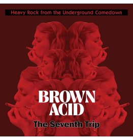 Riding Easy Records Various - Brown Acid: The Seventh Trip (Coloured Vinyl)