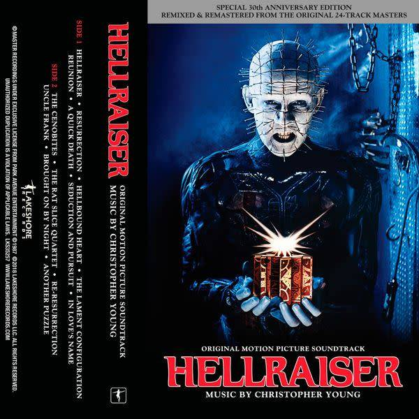 Lakeshore Records Christopher Young - Hellraiser (30th Anniversary)
