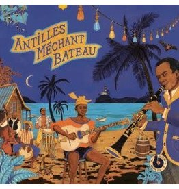 Born Bad Records Various - Antilles Mechant Bateau