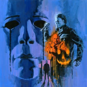 Deathwaltz John Carpenter & Alan Howarth - Halloween II (Coloured Vinyl)