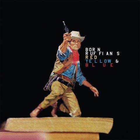 Warp Records Born Ruffians - Red Yellow & Blue