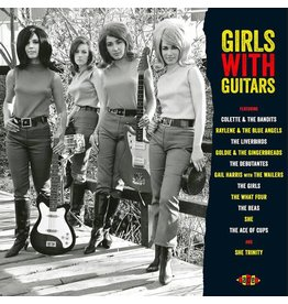 Ace Records Various - Girls With Guitars (Red Vinyl)