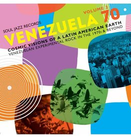 Soul Jazz Records Various - Venezuela 70 Vol. 2: Cosmic Visions Of A Latin American Earth