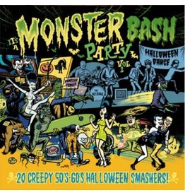 Now Sound Records Various - It's A Monster Bash Party Vol. 1 (Coloured Vinyl)