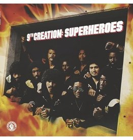 Pass Due Records The 9th Creation - Superheroes