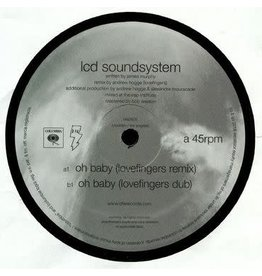 DFA Records LCD Soundsystem - Oh Baby (Lovefingers Remixes)