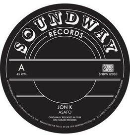 Soundway Records Jon K / Pat Thomas - Asafo / Enye Woa