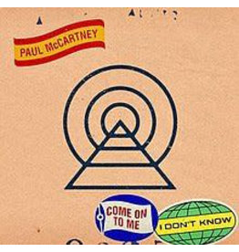 EM Records Paul McCartney - I Don't Know / Come To Me