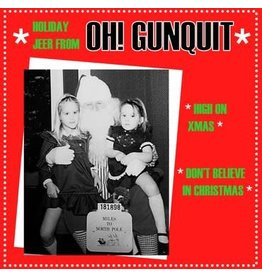 Snowflake Christmas Single Club Oh! Gunquit - High On Xmas / Don't Believe In Christmas (Coloured Vinyl)