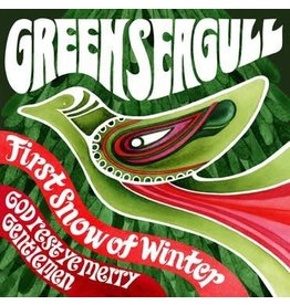 Snowflake Christmas Single Club Green Seagull - First Snow of Winter / God Rest Ye Merry Gentleman (Coloured Vinyl)