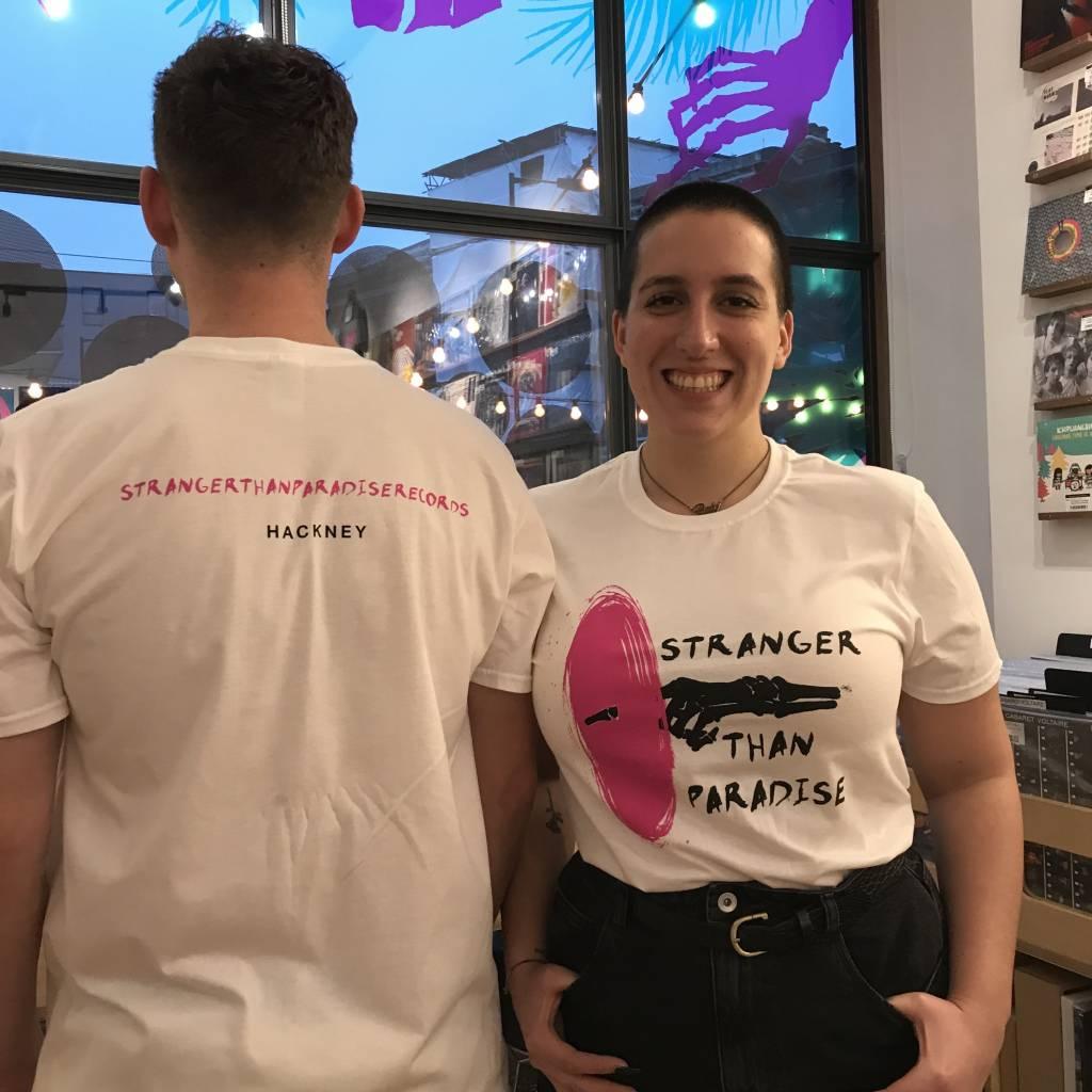 Stranger Than Paradise Records Stranger Than Paradise - Limited White T-shirt