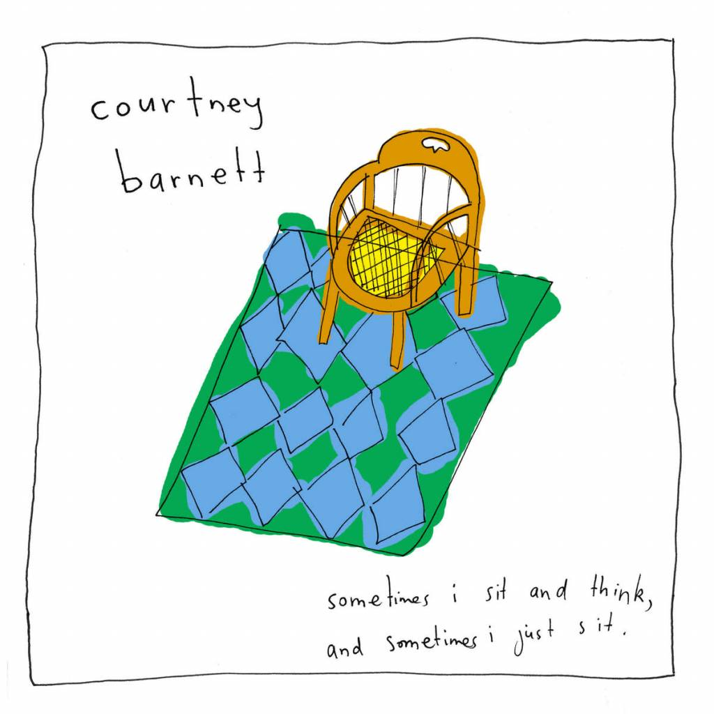 Marathon Artists Courtney Barnett - Sometimes I Sit & Think & Sometimes I Just Sit