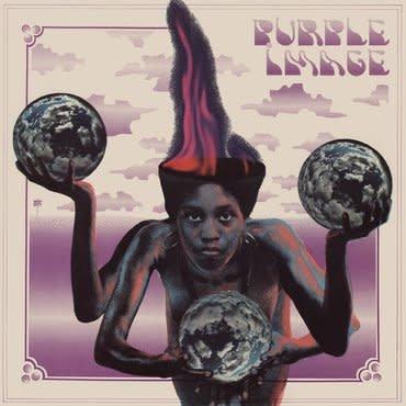 Tidal Waves Music Purple Image - Purple Image