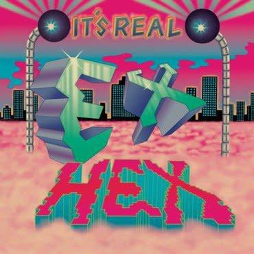 Merge Records Ex Hex - It's Real (Coloured Vinyl)
