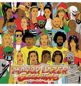 Because Music Major Lazer - Essentials (Coloured Vinyl)