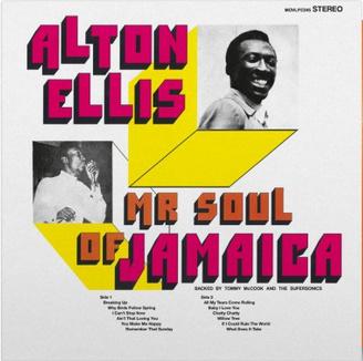 Music On Vinyl Alton Ellis - Mr Soul Of Jamaica (Coloured Viny)