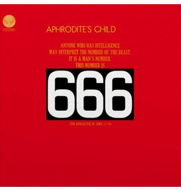 Music On Vinyl Aphrodite's Child - 666 (Coloured Vinyl)