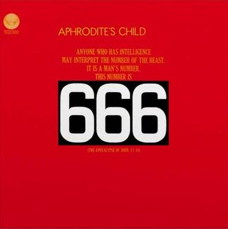 Music On Vinyl Aphrodite's Child - 666 (Coloured Vinyl)