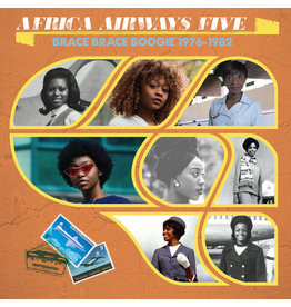 Africa Seven Various - Africa Airways Five (Brace Brace Boogie 1976 - 1982)