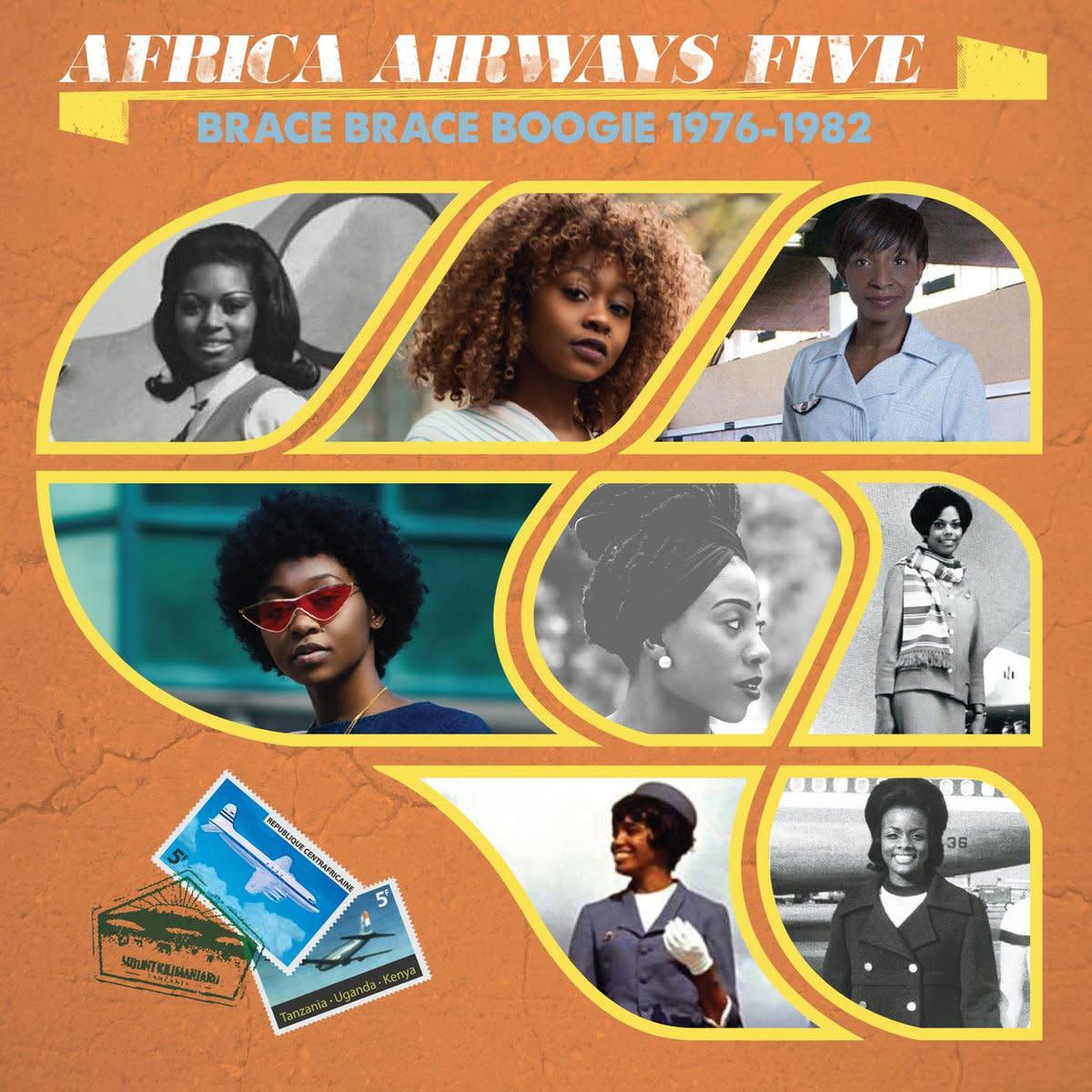 Africa Seven Various - Africa Airways Five (Brace Brace Boogie 1976 - 1982)