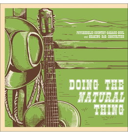 PTR Canada Various - Doing The Natural Thing: Psychedelic-Country-Garage-Soul