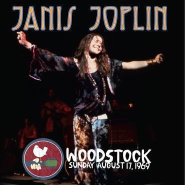 Record Store Day Janis Joplin - Live At Woodstock Sunday August 17, 1969