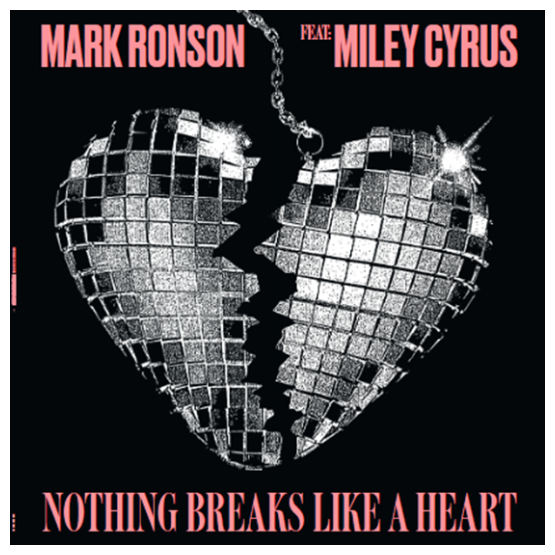 Record Store Day Mark Ronson & Miley Cyrus - Nothing Breaks Like A Heart