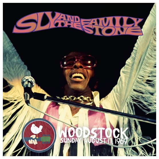 Record Store Day Sly & The Family Stone - Live At Woodstock Sunday August 17, 1969