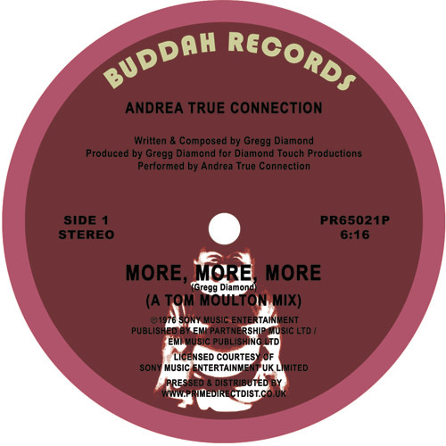 Buddah Records Andrea True Connection - More, More, More