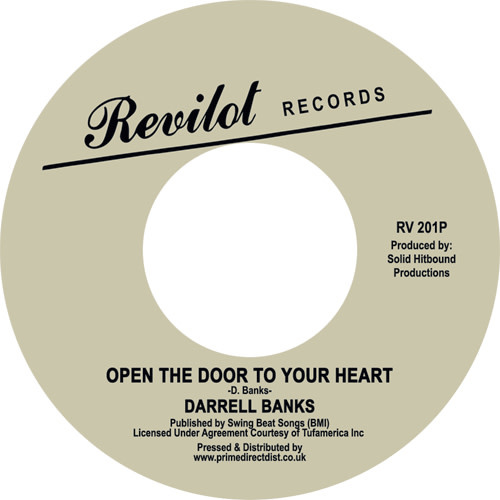 Revilot Records Darrell Banks - Open The Door To Your Heart (Vocal & Instrumental)