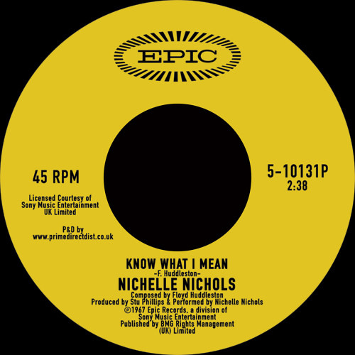 Epic Nichelle Nichols - Know What I Mean /  Why Don't You Do Right?