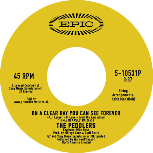 Epic The Peddlers - On a Clear day
