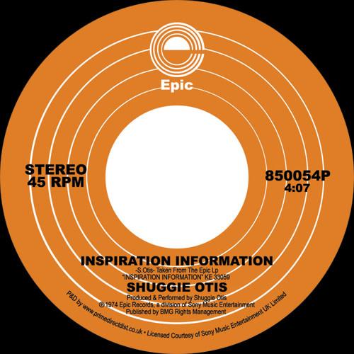 Epic Shuggie Otis - Inspiration Information / Ah Uh Mi Hed