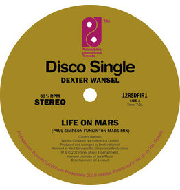 Pir/Expansion Dexter Wansel - Life On Mars (Paul Simpson Funkin' On Mars Remix)