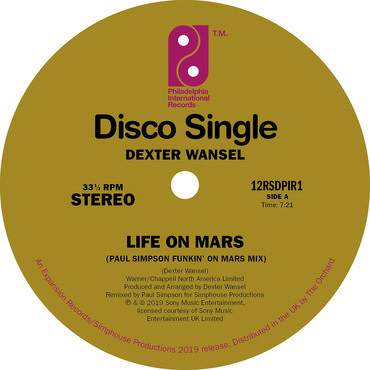 Pir/Expansion Dexter Wansel - Life On Mars (Paul Simpson Funkin' On Mars Remix)