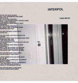 Matador Records Interpol - A Fine Mess
