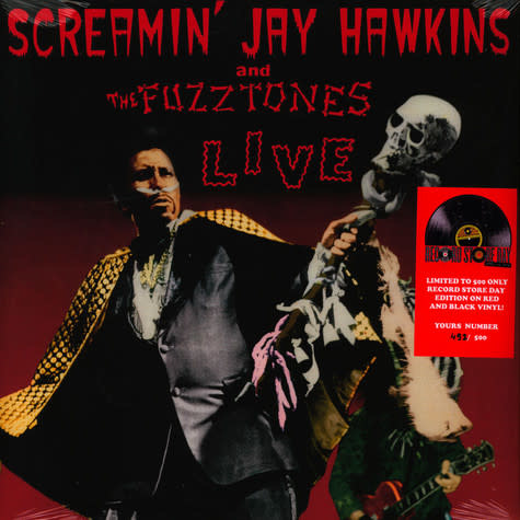Record Store Day Screamin' Jay Hawkins and The Fuzztones - Live
