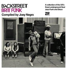 Z Records Various - Backstreet Brit Funk Vol. 1