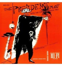 Verve Oscar Peterson Trio - The President Plays With The Oscar Peterson Trio