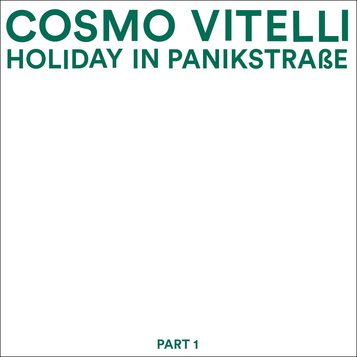 Malka Tuti Cosmo Vitelli - Holiday In Panikstrasse Part 1