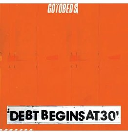 Sub Pop Records The Gotobeds - Debt Begins at 30 (Coloured Vinyl)