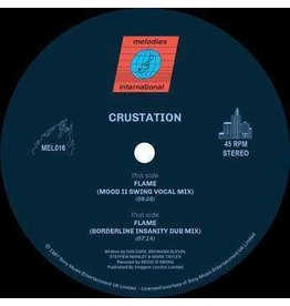 Melodies International Crustation - Flame (Mood II Swing Remixes)