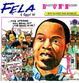 Knitting Factory Records Fela Kuti & Egypt 80 - Beasts Of No Nation