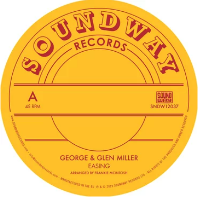 Soundway Records George and Glen Miller - Easing