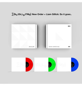 Mute Records New Order - ∑(No,12k,Lg,17Mif) New Order + Liam Gillick: So it goes.. (Coloured Vinyl)