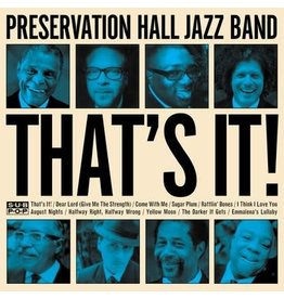 Sub Pop Records Preservation Hall Jazz Band - That's It!