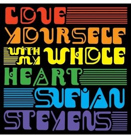 Asthmatic Kitty Records Sufjan Stevens - Love Yourself / With My Whole Heart (Coloured Vinyl)